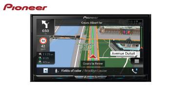 PIONEER AVIC-Z830DAB: 2-DIN Navigationssystem mit DAB+, Apple CarPlay & Android Auto