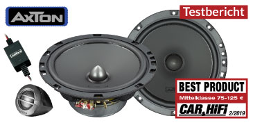 AXTON ATC Kompos – Test Car & HiFi 02/2019