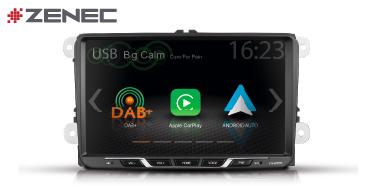 ZENEC Z-E2055: Autoradio für VW, Seat, Skoda